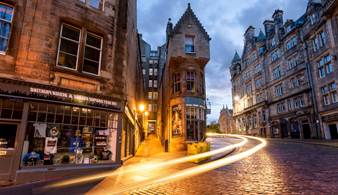 Автомобильная обзорная экскурсия по Эдинбургу