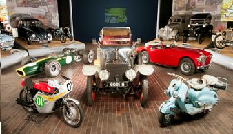 Экскурсия для всей семьи в автомобильный парк-музей развлечений Болье (Бьюли)