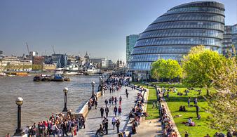 Пешеходная прогулка по центру Лондона